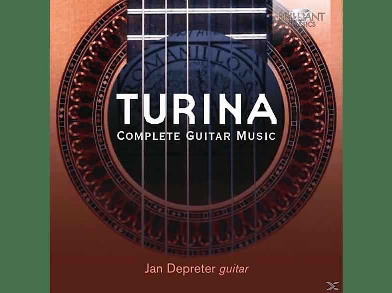 Jan Depreter - Complete Guitar Music [CD]