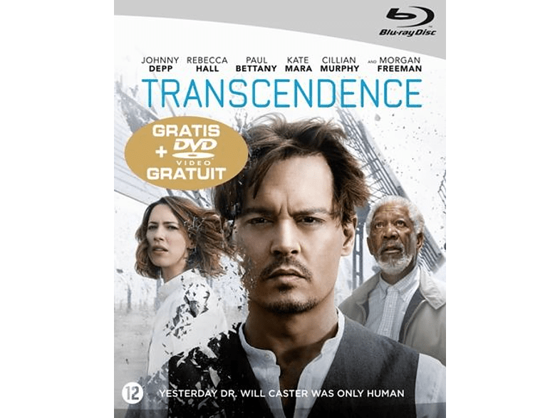 Transcendence Blu-ray