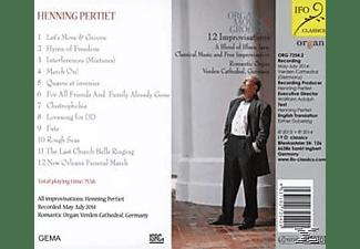 Henning Pertiet - Organ Moves & Grooves-12  Improvisations  - (CD)