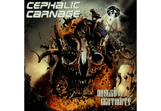 Cephalic Carnage - Misled By Certainty  - (CD)