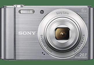 SONY Cyber-shot DSC-W810 Digitalkamera Silber, 20.1 Megapixel, 6x opt. Zoom, TFT-LCD