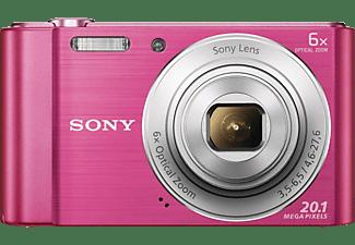 SONY Cyber-shot DSC-W810 Digitalkamera Pink, 20.1 Megapixel, 6x opt. Zoom, TFT-LCD