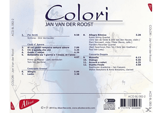 Jan Van Der Roost - Colori  - (CD)