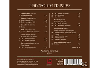 Riva - Pianoforte Italiano  - (CD)