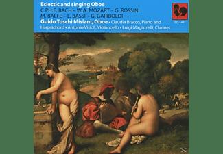 Misiani, Bracco, Visioli, Magistrelli - Eclectic And Singing Oboe  - (CD)