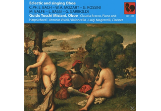 Misiani, Bracco, Visioli, Magistrelli - Eclectic And Singing Oboe - (CD)