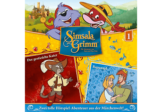 Simsalagrimm - 01: Der Gestiefelte Kater/Rapunzel  - (CD)