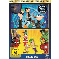 Phineas und Ferb - Mission Marvel/Quer durch die 2. Dimension [DVD]