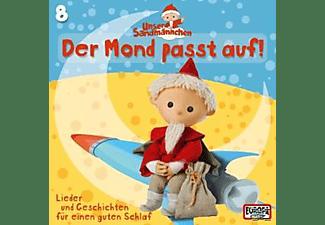 Unser Sandmännchen - 08/Der Mond Passt Auf  - (CD)