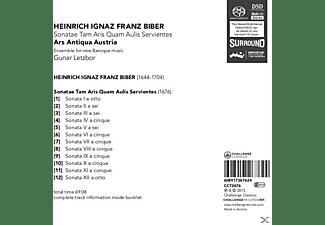 Gunar & Ars Antiqua Austria Letzbor - Sonatae Tam Aris Quam Aulis Servientes  - (SACD)