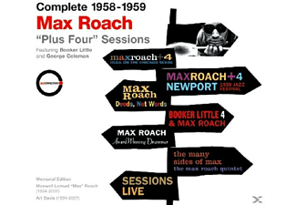 Max Roach - Plus Four Sessions-Complete 1958-1959 Recordings  - (CD)
