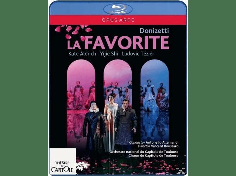 VARIOUS, Orchestre National du Capitole de Toulouse - La Favorite [Blu-ray]