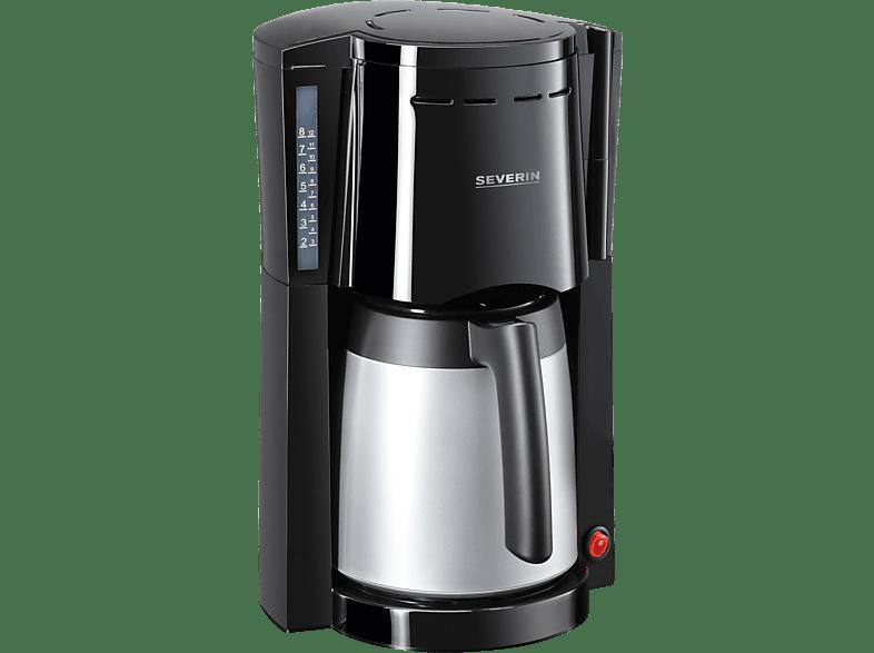 SEVERIN KA 9482 Kaffeemaschine Schwarz/Silber