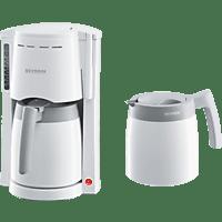 SEVERIN KA 9233 Kaffeemaschine Weiß/Grau