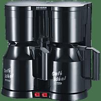 SEVERIN KA 5828 Duo Kaffeemaschine Schwarz