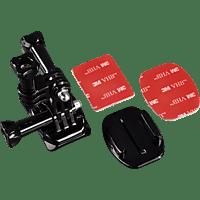 """HAMA """"Seite"""", Helmhalterung für GoPro, Schwarz, passend für GoPro Actioncams"""