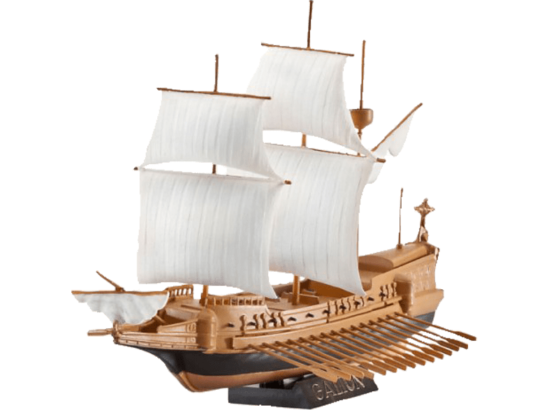 REVELL 65899 Spanische Galleon, Braun