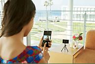 SONY Cyber-shot DSC-WX500 Zeiss Digitalkamera Schwarz, 18.2 Megapixel, 30x opt. Zoom, TFT-LCD, Xtra Fine, WLAN
