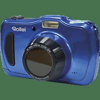 ROLLEI Sportsline 100 Digitalkamera Blau, 20 Megapixel, 4x opt. Zoom, LCD-Panel