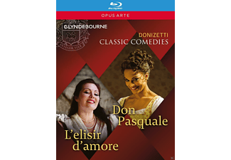 VARIOUS - Don Pasquale/L'elisir D'amore - (Blu-ray)