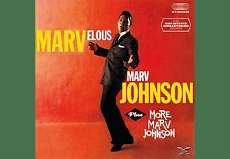 Marv Johnson - Marvelous Marv Johnson+More  - (CD)