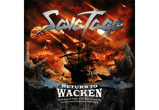 Savatage - Return To Wacken - (CD)