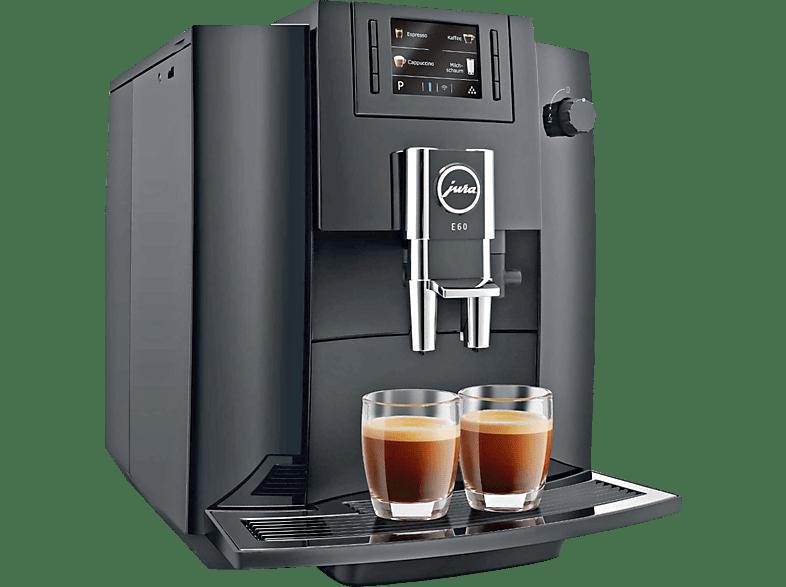 JURA E60  Kaffeevollautomat Piano Black
