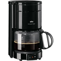 BRAUN KF 47/1 Aromaster Classic Kaffeemaschine Schwarz