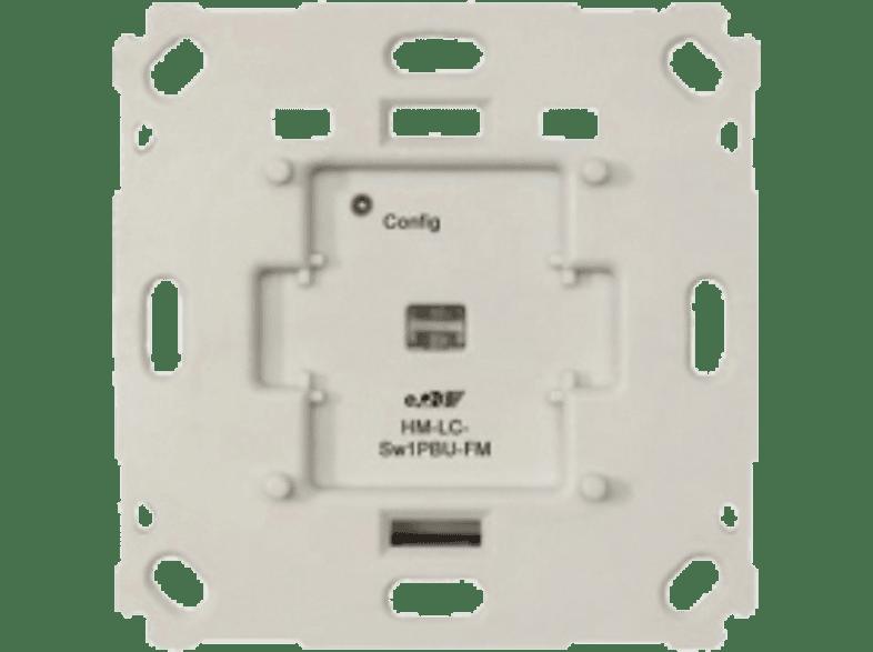 HOMEMATIC 103029 HM-LC-SW1PBU-FM Funk-Schaltaktor 1-fach für Markenschalter