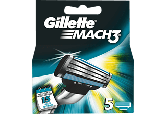 GILLETTE MACH3 Men's rakblad, 5-pack