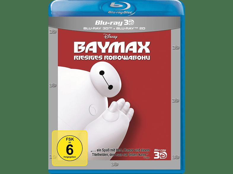 Baymax - Riesiges Robowabohu [3D Blu-ray (+2D)]