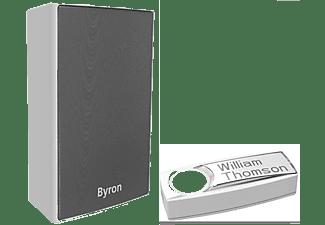 BYRON BY601E Funk-Türklingel-Set , Grau