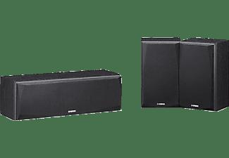 YAMAHA NS-P51 Lautsprechersystem (Surround Erweiterung, Schwarz