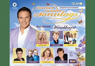 VARIOUS - Immer Wieder Sonntags, Das Grosse Wunschkonzert  - (CD)