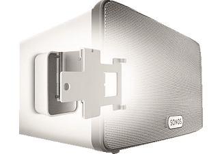 VOGEL´S Vogel's Sound 4203 Lautsprecher-Wandhalterung für Sonos Play:3 Wandhalter, Weiß