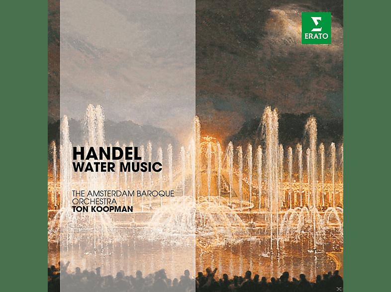 Ton Koopman, Amsterdam Baroque Orchestra - Handel: Water Music [CD]