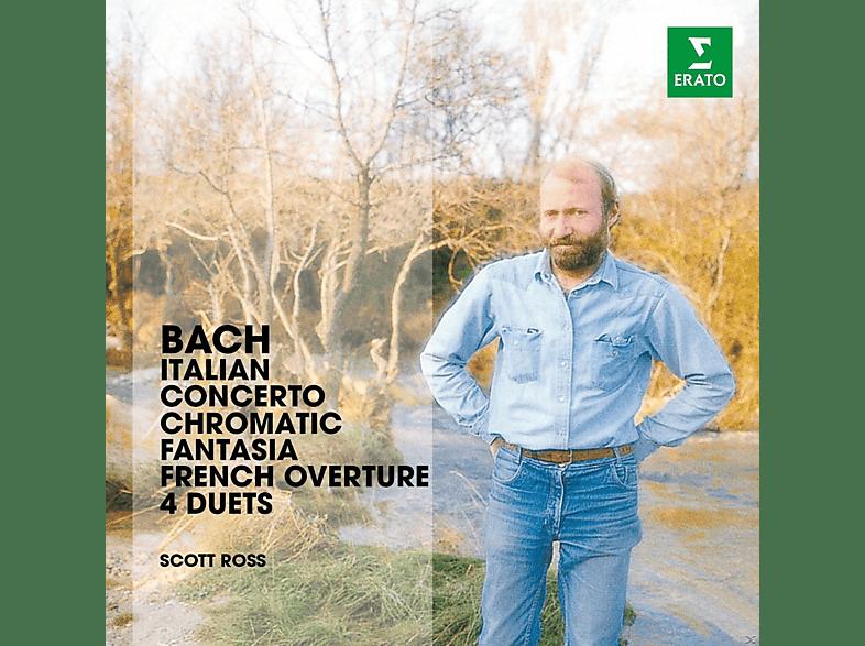 Scott Ross - Bach: Italian Concerto, Chromatic Fantasia, French Overture & 4 Duettos [CD]
