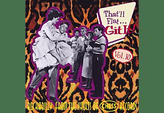 VARIOUS - Vol.10, That Ll Flat Git It  - (CD)