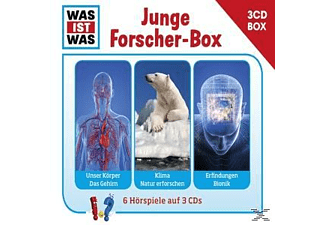 Was Ist Was - Was Ist Was 3-Cd Hörspielbox Vol.4-Forscher  - (CD)