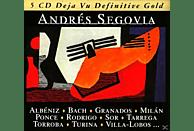 Andrés Segovia - Deja Vu Definitive Gold [CD]
