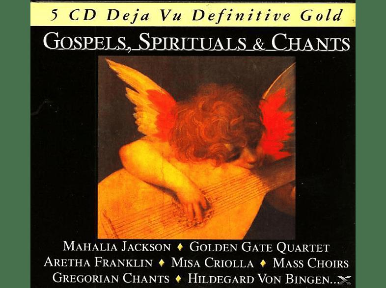 VARIOUS - Gospels, Spirituals & Chants [CD]
