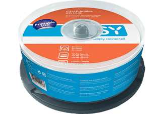 ISY ICD-1500 CD-R 25er Spindel printable CD-R