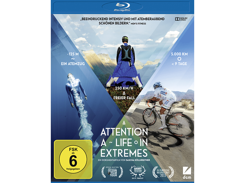 Attention: A Life in Extremes [Blu-ray]
