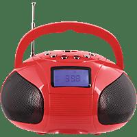 AUGUST SE20R Bluetooth Lautsprecher, Rot