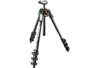 MANFROTTO MT190CXPRO4 Dreibein Stativ, Schwarz, Höhe offen bis 1600 mm