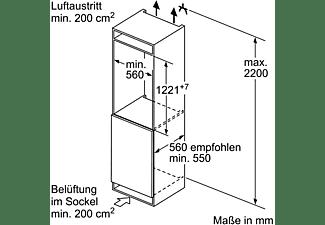 BOSCH KFL42VF30 Kühlschrank (172 kWh/Jahr, A++, 1221 mm hoch, Weiß)