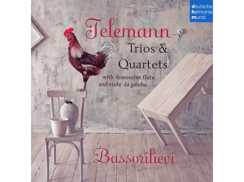 Ensemble Bassorilievi - Trios & Quartets [CD]