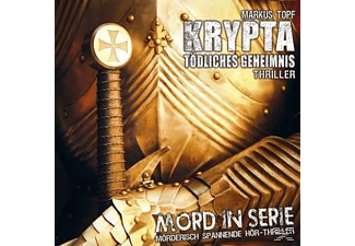 Markus Topf - Mord In Serie 18: Krypta-Tödliches Geheimnis  - (CD)