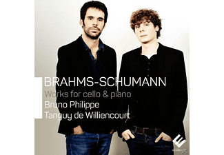 De Williencourt Tanguy, Bruno Philippe - Werke Für Cello & Klavier  - (CD)
