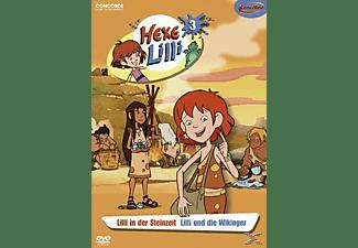 Hexe Lilli 3- Lilli in der Steinzeit / Lilli und die Wikinger DVD